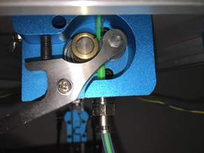 Kossel mini 3mm to 1.75mm extruder holder