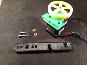 RepRapPro extruder drive. NEMA14.