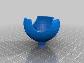 Flsun QQ vibration damper stands with soft Golf balls