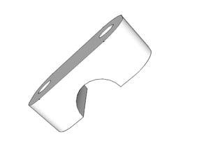 8 mm quadrocpter arm clamp.