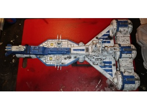 Republic Cruiser from Star Wars TPM remixed engines and more