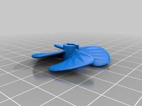 4 blade boat propeller V2