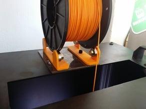 Filament bobbin guide