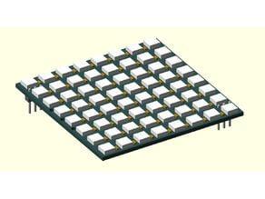 CJMCU-64 8x8 RGB NeoPixel Matrix Reference Model