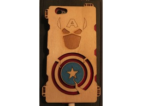 Captain America Wooden iPhone 6 case