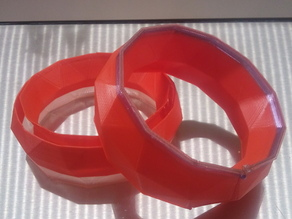 low res bracelet double walls on Ultimaker
