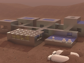 Mars Building - Sand Ingot
