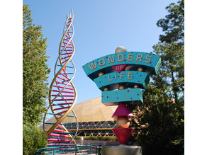 Wonders of Life Epcot Sign