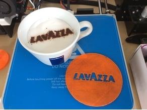 Lavazza Latte Stencil 10cm
