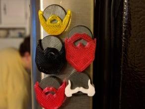 Beard Magnets