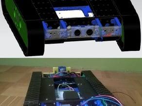 "Tracked robotic base ""Ryszard"""