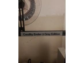 Creality Ender-3 Color Edition