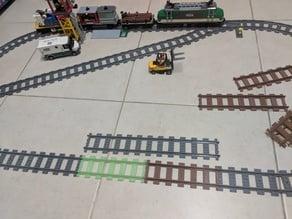 Lego Train Track, Straight 1.5X