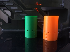 Silhouette Cylinders for Infinity (updated)