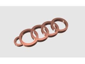 Audi Key Chain