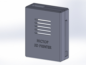 Computer Box HICTOP 3D Printer