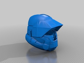 SWTOR Trooper Helmet Option 1 & 2 Revision 2