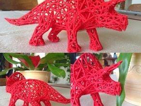Voronoi Triceratops