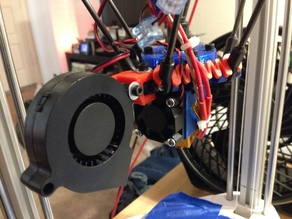 Blower fan Mount for 3DR Effector