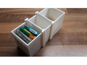 AAA Battery Storage Box Divider