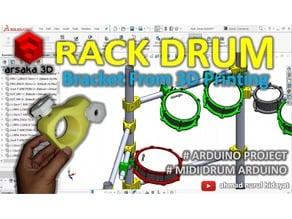 RACK DRUM - MIDI DRUM ARDUINO