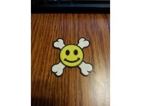smiley crossbones