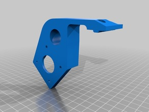 Extruder Mount for 2020 Profile (Tronxy X5S)