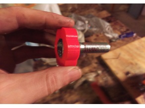 Custom Hex Bolt Knob