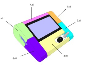 full graphic smart controller case for fabrikator mini