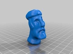 Remixed Odin Head