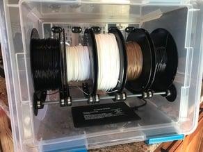 Compact 5-Spool Filament Drybox