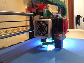 Anet A8 - Extruder fan and heatsink easy removal