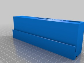 Tool holder for Acrylic panels for Replicator 2