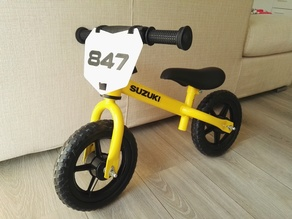 MINI SUZUKI FRONT PLATE (for balance bike)