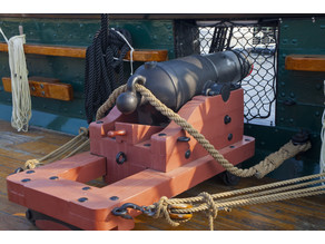 32 Pounder Cannon  USS Constitution