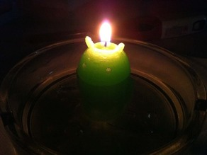 Candle of Android's Mascot