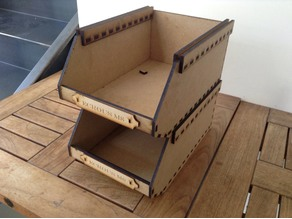 lasercut heavy duty stackable big box