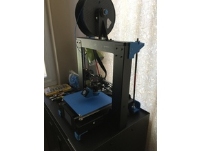 Monoprice maker select plus IIIP Rear Brace (at the back)