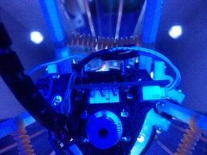 Rostock Effector Probe-less E3D J-head v5 mount