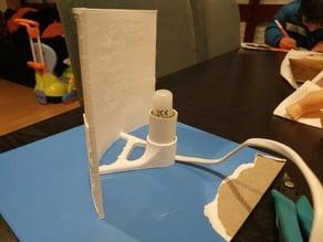lithophane holder with lamp support (v5 inside)