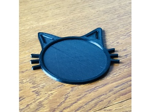 Cat Shaped Coaster