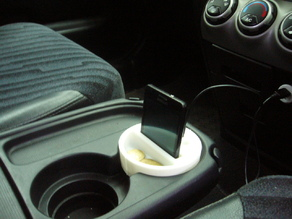 Cup holder adapter Mobile phone