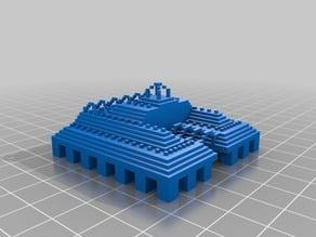 Minecraft Ocean Monument