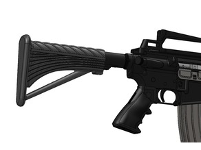 Airsoft stock for M4/AR15 - 3