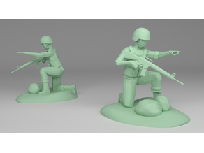 Soldier (Low-Poly)