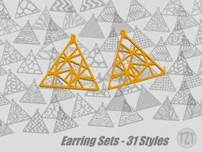 Earring Sets - 31 Styles, Jewelry, Pendant, Wearable