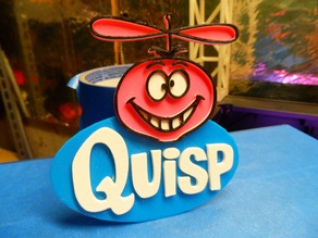 Quisp Cereal logo