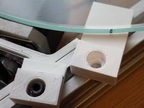 2020 Kossel - Glass Bed Holder for FSRs