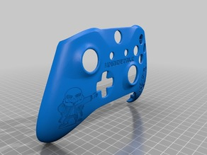 Xbox One S Custom Controller Shell: Undertale Sans Edition