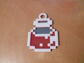 Health/Mana Restore Potion Keychain (Legend of Zelda: Link to the Past)